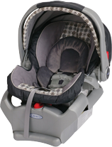 Child infant seat (0-9 kg)
